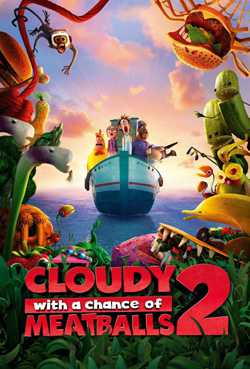Cloudy with a Chance of Meatballs 2 (Dual Audio)