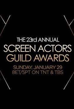 The 23rd Annual:Screen Actors Guild Awards