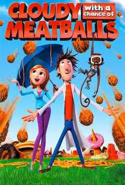 Cloudy with a Chance of Meatballs (Dual Audio)