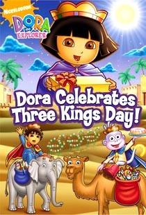 Dora Clebrates Three Kings Day