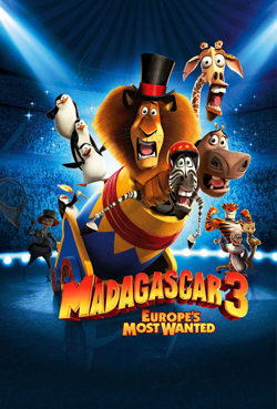 Madagascar 3: Europe's Most Wanted - Dual Audio