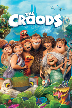 The Croods  (Dual Audio)